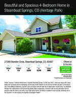 27389 brandon circle   steamboat springs co listing flyer